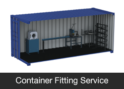Container Fitting Service