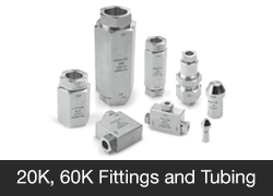 20K 60K Fittings and Tubing