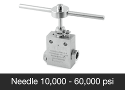 Needle Valves High Pressure