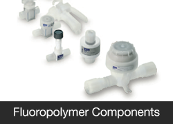 Fluoropolymer Components and Analytical Systems