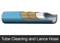 Tube Cleaning and Lance Hose